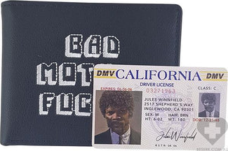 Pulp Fiction [Black] | Bad Mother F - WALLET