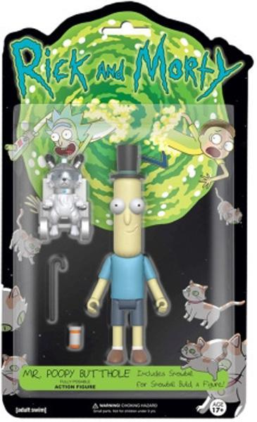 "Rick and Morty – Mr Poopy Butthole 5"" Action Figure"