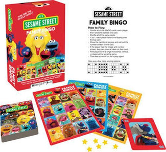 Sesame Street Family Bingo | GAME