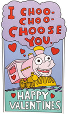 The Simpsons | I Choo Choo Choose You VALENTINE'S CARD