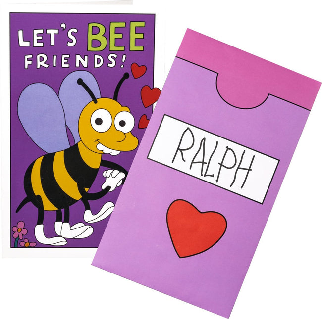 The Simpsons | Let's Bee Friends VALENTINE'S CARD