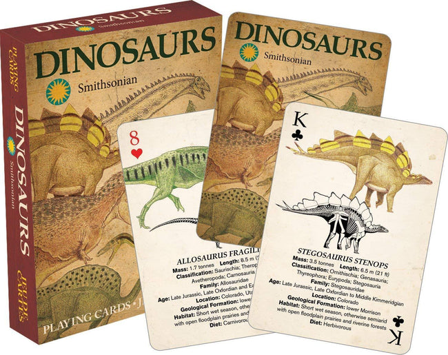 Smithsonian Dinosaurs | PLAYING CARDS