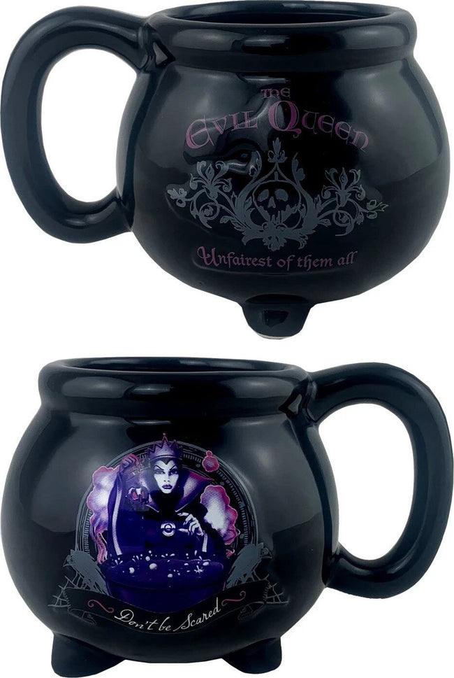 Snow White | The Evil Queen Black Kettle 3D SCULPTED MUG