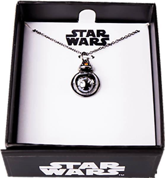 Star Wars Episode VIII BB-9E Spinning Necklace