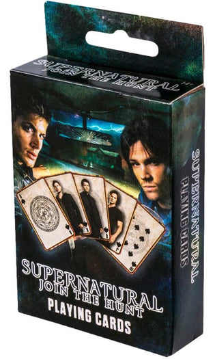 Copy of +Supernatural | Playing CARDS DECK