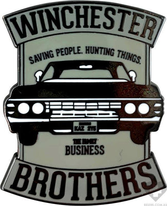 Supernatural | Winchester Brothers ENAMEL PIN