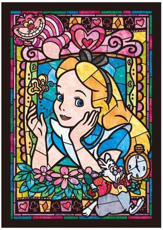 Disney | Alice in Wonderland Stained Glass PUZZLE [266 Pieces]