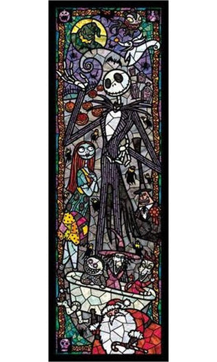 Disney | Nightmare Before Christmas Stained Glass PUZZLE [456 Pieces]
