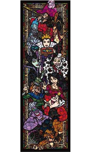 Disney | Villains Stained Glass PUZZLE [456 Pieces]