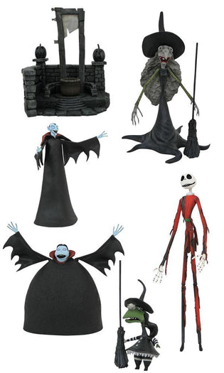 The Nightmare Before Christmas | Select Series 8 FIGURE CASE
