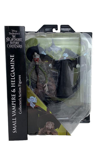The Nightmare Before Christmas | Select Series 8 Small Vampire & Helgamine ACTION FIGURE