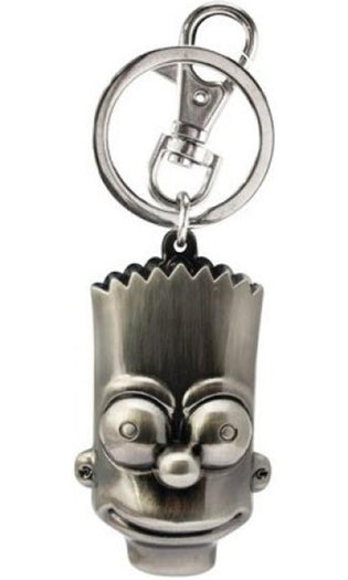 The Simpsons | Bart Simpson Head Pewter KEYRING