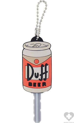 The Simpsons | Duff Beer Soft Touch PVC KEY HOLDER*