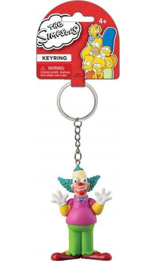 The Simpsons | Krusty The Clown Figural PVC KEYRING