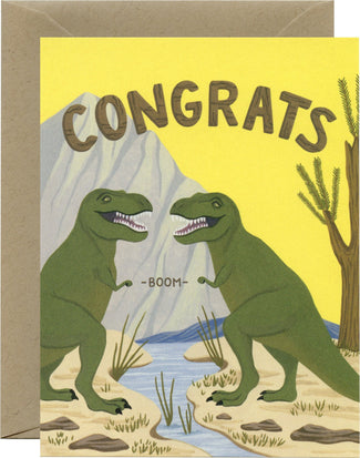 T-Rex Fist Bump | CARD