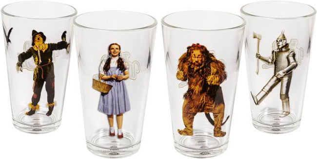 Wizard Of Oz | Character TUMBLERS [Set Of 4]