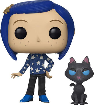 Coraline | Coraline with Cat POP! VINYL