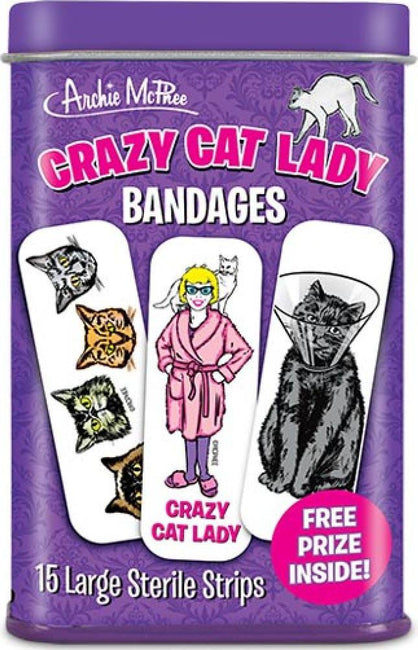 Crazy Cat Lady Bandages