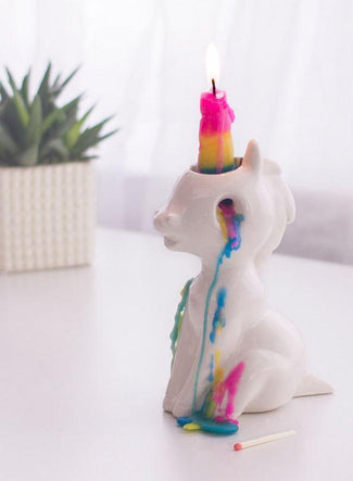 Crying Unicorn | CANDLE HOLDER