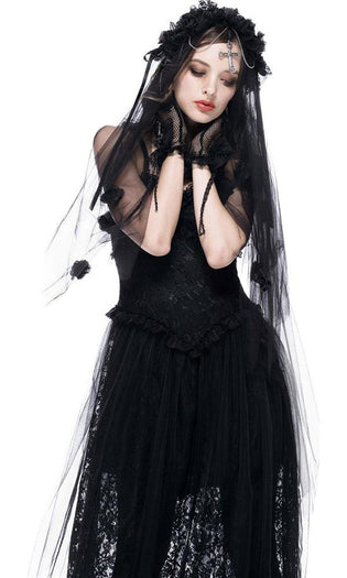 Gothic Bride Cross | VEIL