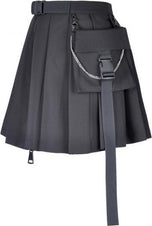 Assassin Pleated | SKIRT W/ BAG
