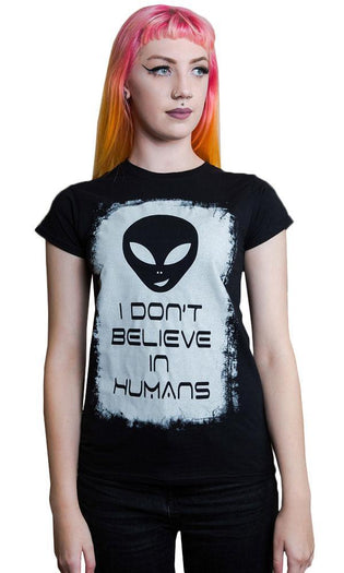 Alien Believe In Humans | T-SHIRT