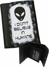 Alien Dont Believe In Humans | WALLET