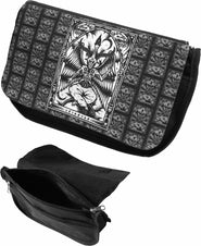 Baphomet Zip Up Make Up Bag