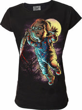 Chucky T Shirt Ladies
