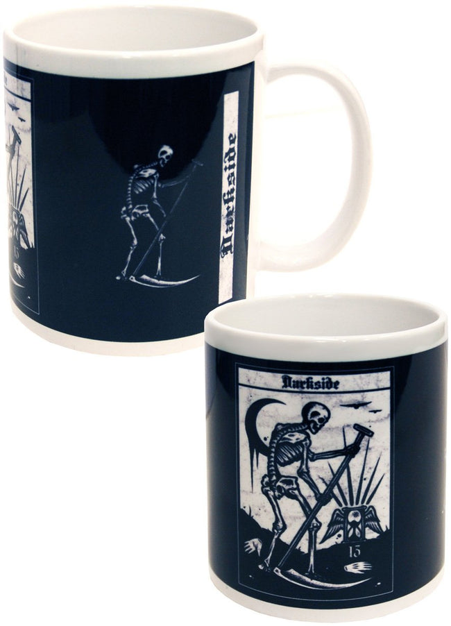 Death Tarot Card [Black and White] | MUG
