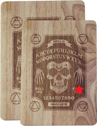 Ghoul Ouija [Small] | CHOPPING BOARD