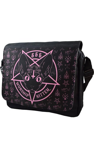 Kitten 666 | MESSENGER BAG