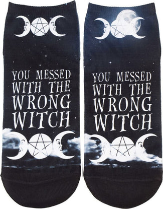 You Messed With The Wrong Witch | SHORT SOCKS