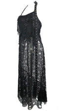 Skull Net Long | DRESS