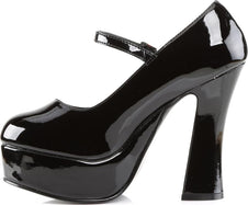 DOLLY-50 [Black Patent] | HEELS [PREORDER]