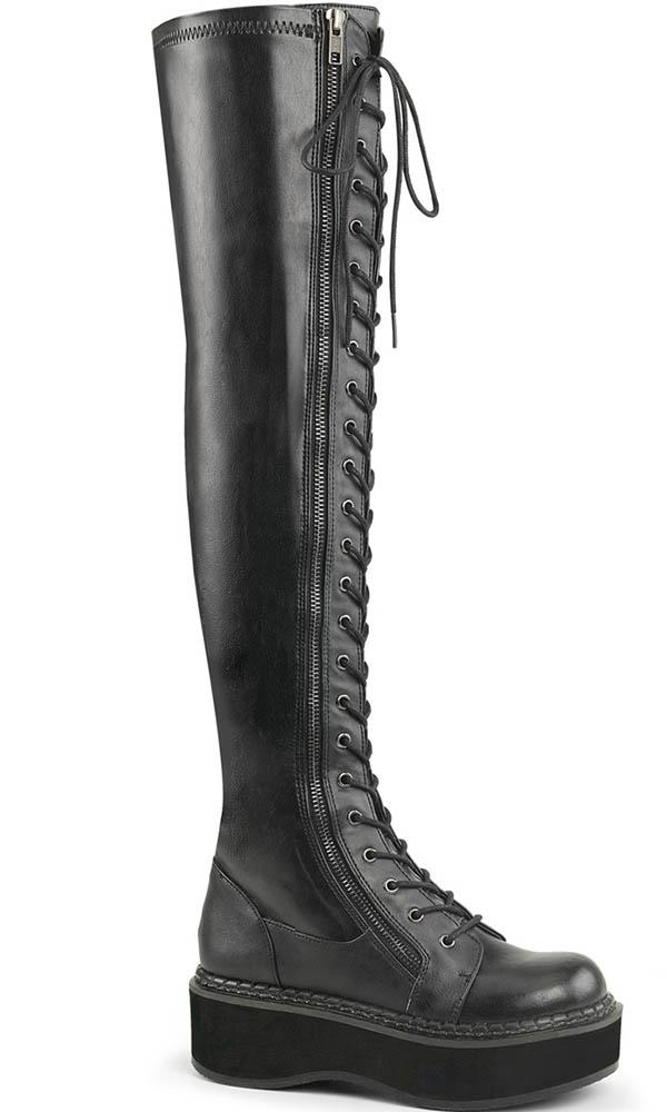 EMILY-375 [Black] | BOOTS [PREORDER]