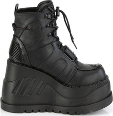 STOMP-13 | Black Vegan Leather [PREORDER]