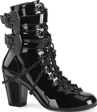 VIVIKA-128 [Black Patent] | BOOTS [IN STOCK]