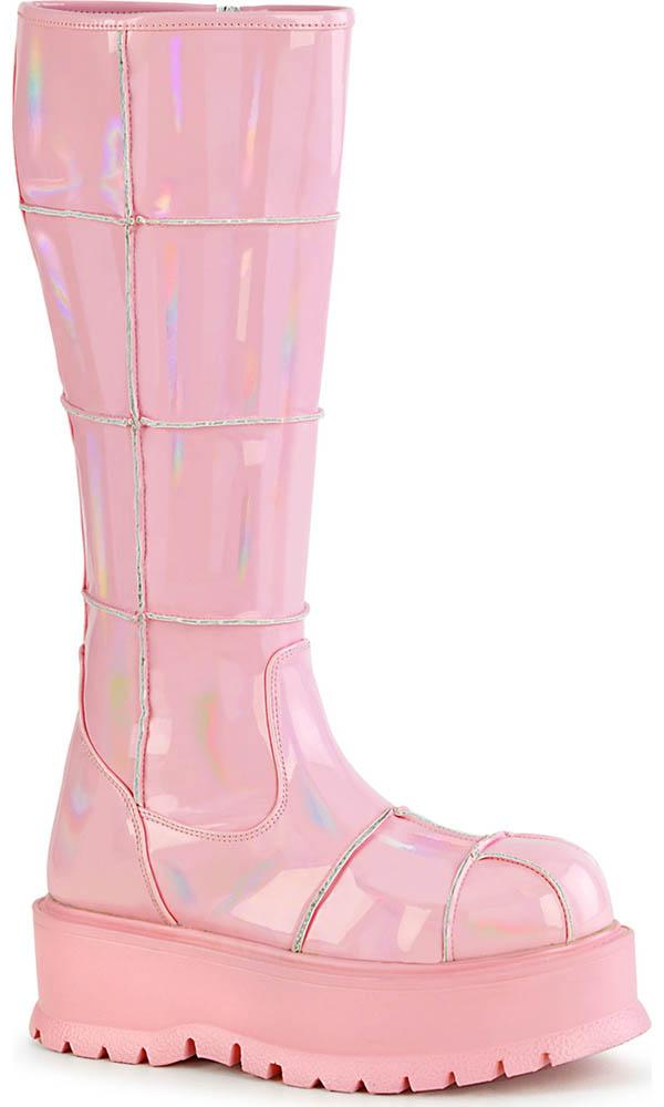SLACKER-230 [Pink Holo] | BOOTS [PREORDER]