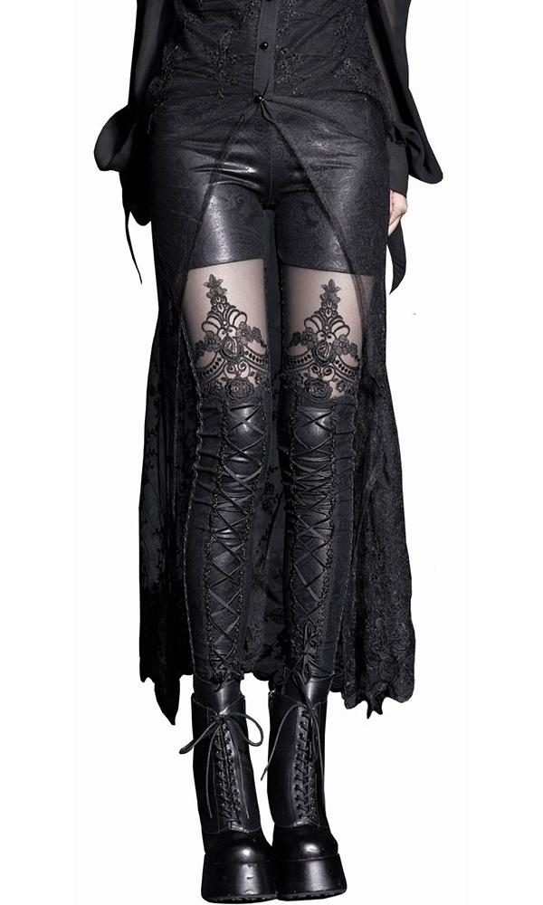 Destroyer Filigree Lace | LEGGINGS*