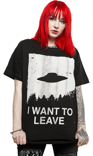 I Want To Leave | T-SHIRT