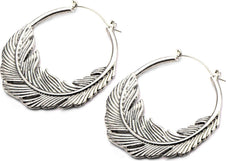 Light As A Feather | PLUG HOOP EARRINGS