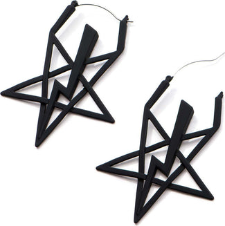 High Priest Sigil Plug Hoop | EARRINGS