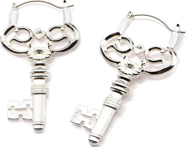 Key Plug Hoop | EARRINGS