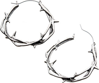 Twisted Thorn Plug Hoop | EARRINGS