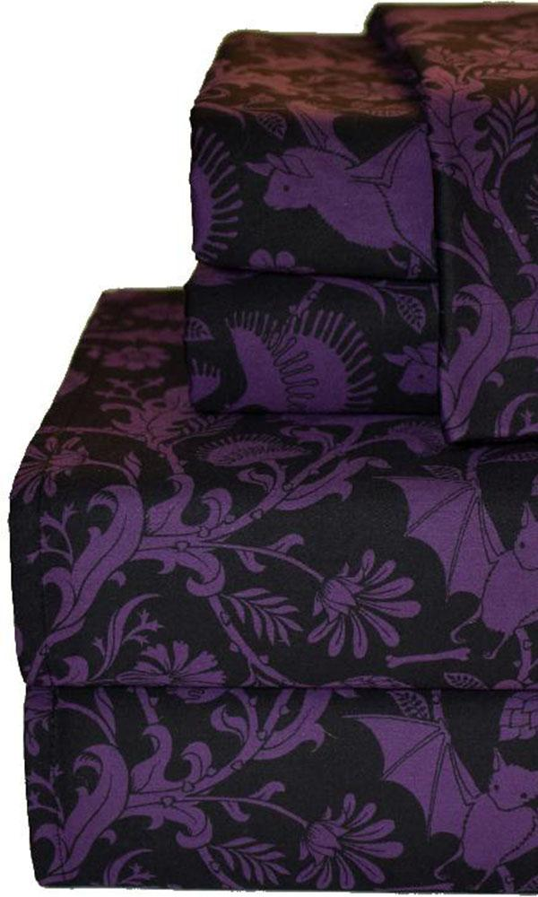 Elysian Fields [Purple] | QUEEN SHEET SET