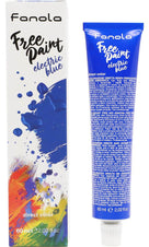 Electric Blue Free Paint | HAIR COLOUR
