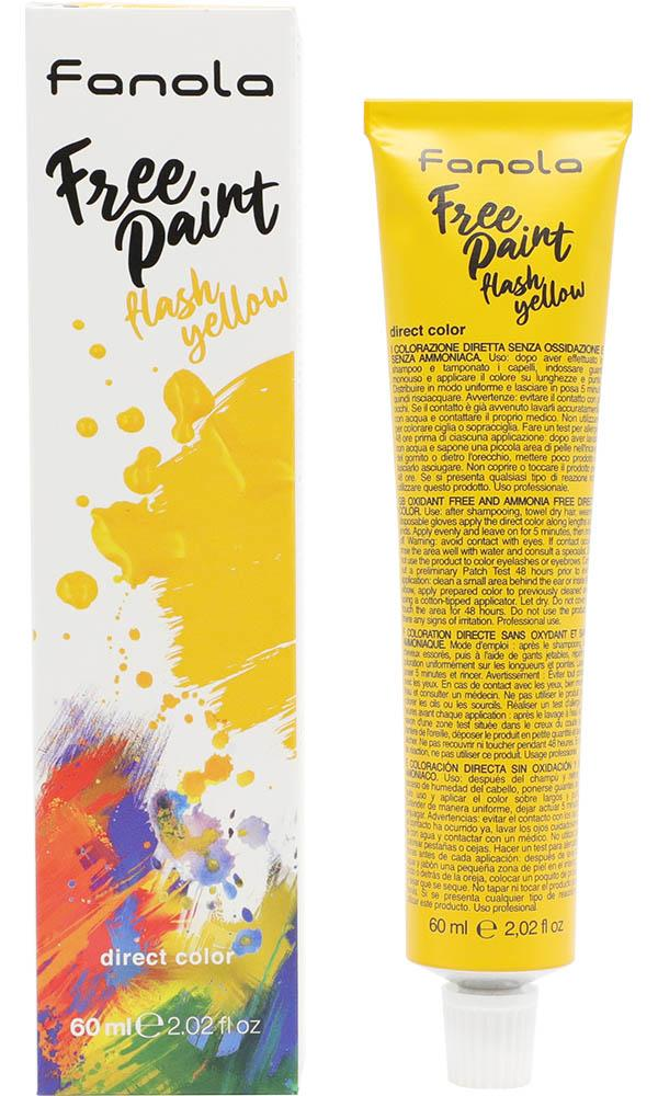 Flash Yellow Free Paint | HAIR COLOUR