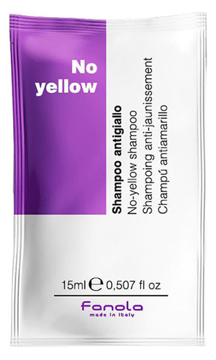 No Yellow | SHAMPOO 15ml SATCHET