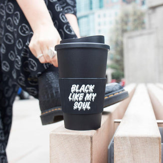 Black Like My Soul | TRAVEL MUG